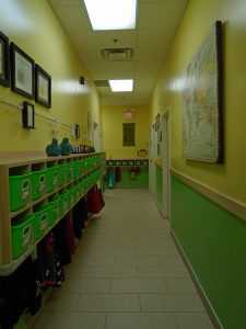Casa Cubbies & Middle Hallway